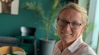Tonje Steigedal (t.h.) leder det nystartede selskapet Lybe Scientific AS