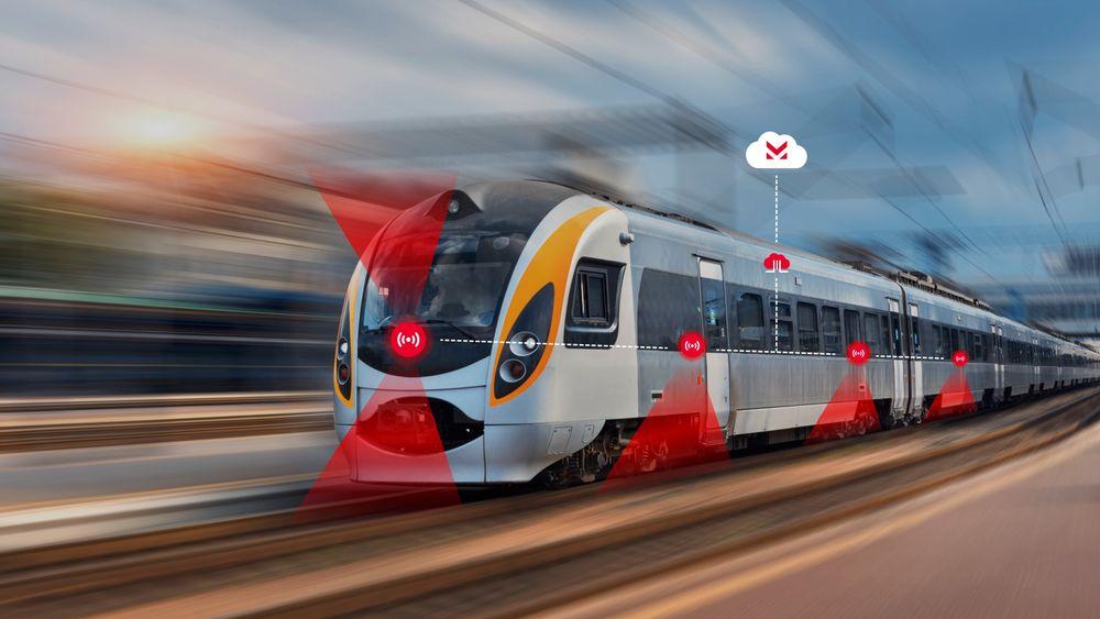 Skal toget bli mer konkurransedyktig, må punktligheten bli bedre. Cemit håper at deres løsninger kan bidra til et grønt skifte.