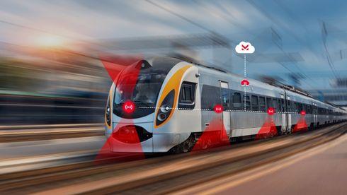 Selskapet Cemit vil gjøre jernbanen 30 prosent mer effektiv ved hjelp av billige sensorer.