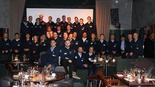 Fra «Fersken», bli-kjent-dagen hos Data Respons R&D Services, hvor mange av de 40 nyansatte ble ønsket velkommen.