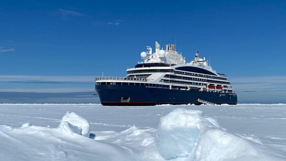 BRANDSTORY: Første ekspedisjonsskip elektrisk til Nordpolen med 5 MWh-batteripakke