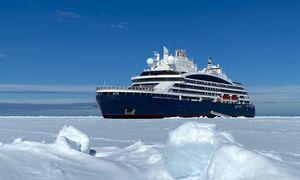 Første ekspedisjonsskip elektrisk til Nordpolen med 5 MWh-batteripakke