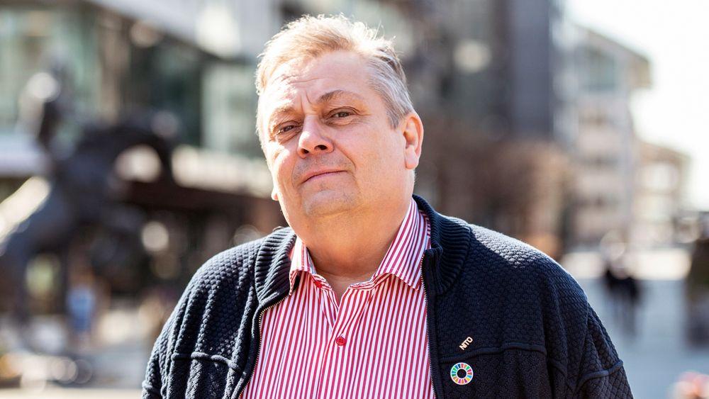 NITO-president Trond Markussen vil at regjeringen skal se konkret på omstilling til grønne industrier.