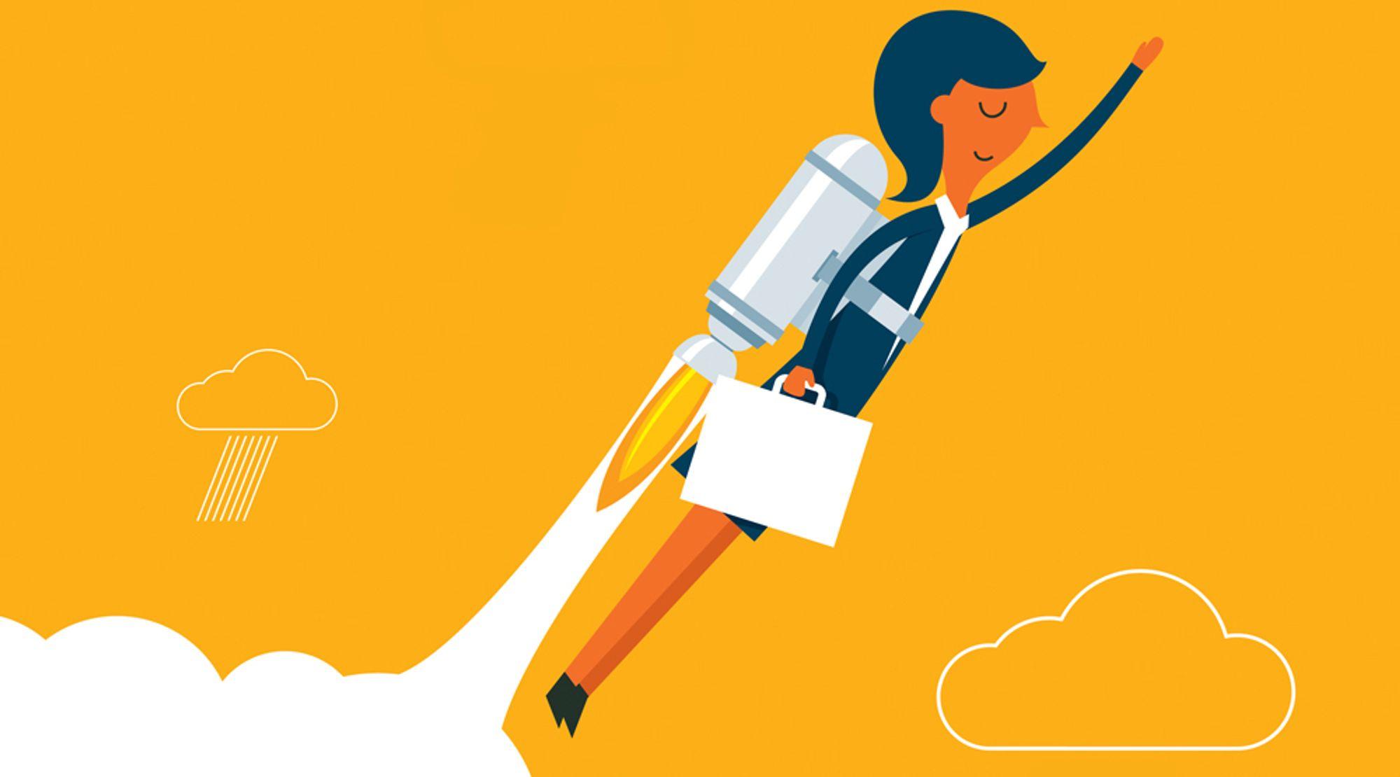 Fagfolk med flest produktivitetspoeng har en tendens til å gjøre det bra ved hjelp av tre dominerende vaner.
