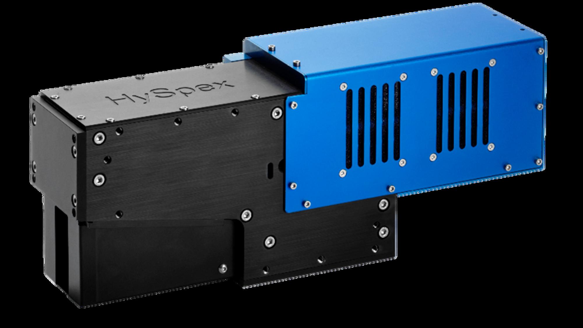 HySpex VNIR-1800: Er ett eksempel på et av HySpex sine klassiske hyperspektrale kamera. Det brukes primært som et verktøy i forskning