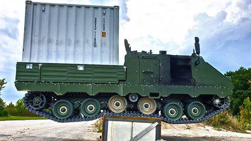 På samme plattform som kampluftvern: Nye artillerijegere skal bygges i Norge