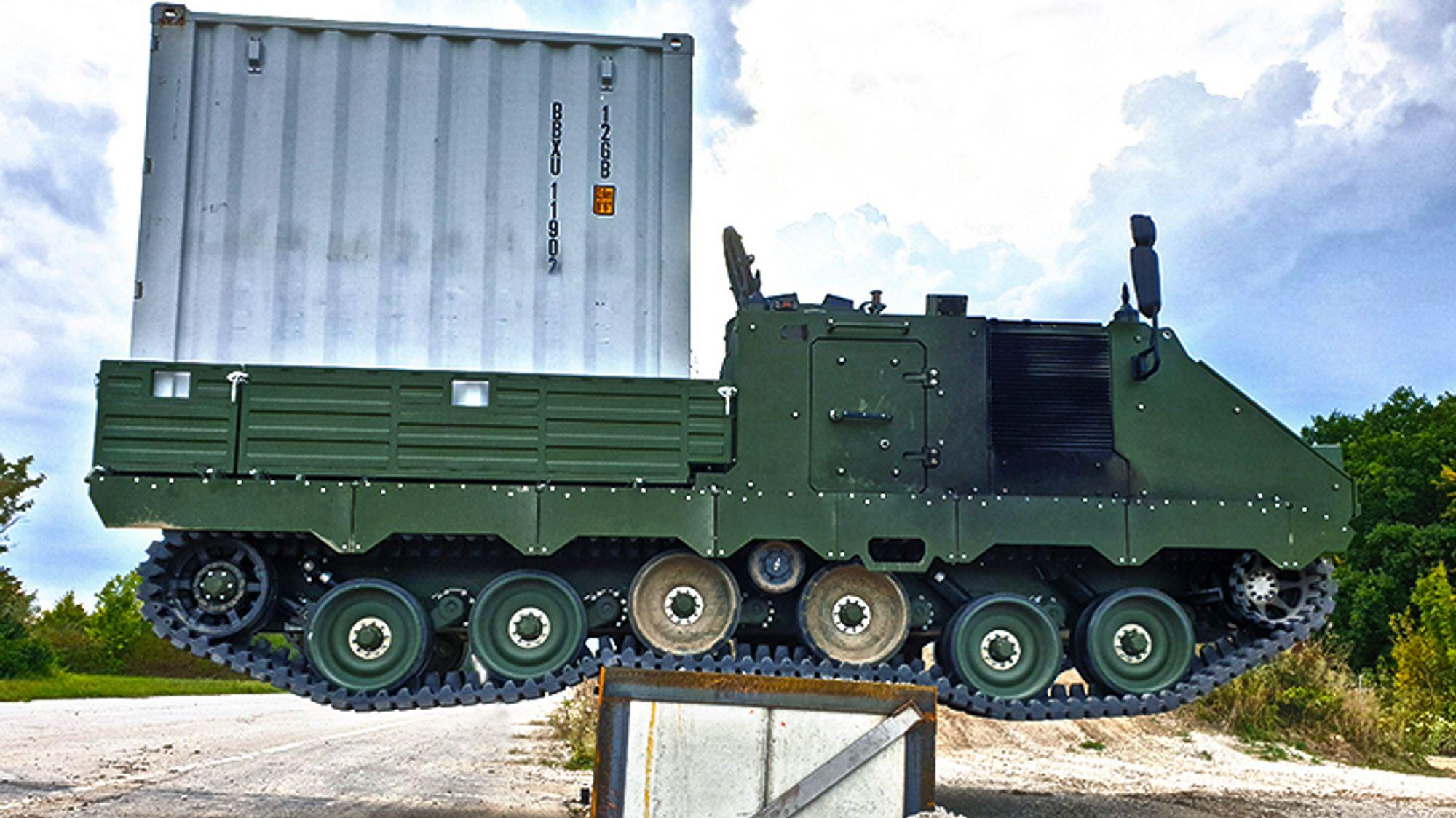 Testing av den siste ACSV G5-prototypen hos FFG i Tyskland i 2020. De første to serieproduserte eksemplarene skal leveres i år, mens resten av vognene skal produseres av Ritek i Norge.