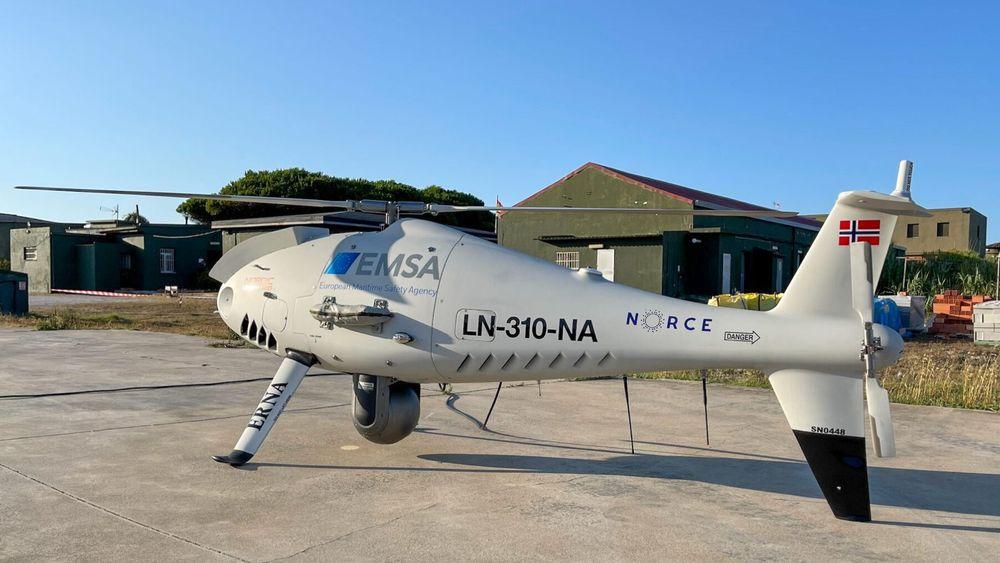 Denne dronen lukter seg fram til svovelutslipp på skip ved Gibraltar-stredet.
