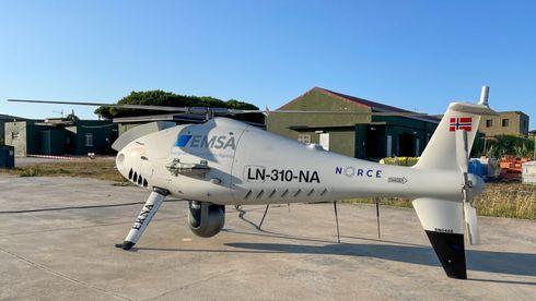 Svovelsniffende drone avslører hvert tiende skip