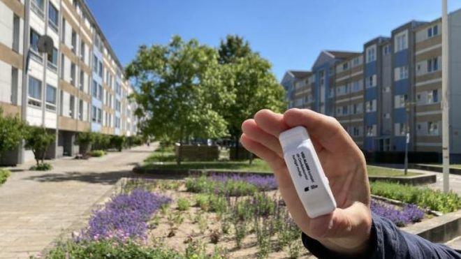 Leilighetene i Karlemoseparken ved Køge i Danmark vil bli de første som får glede av denne lille sladrehanken for smålekkasjer.