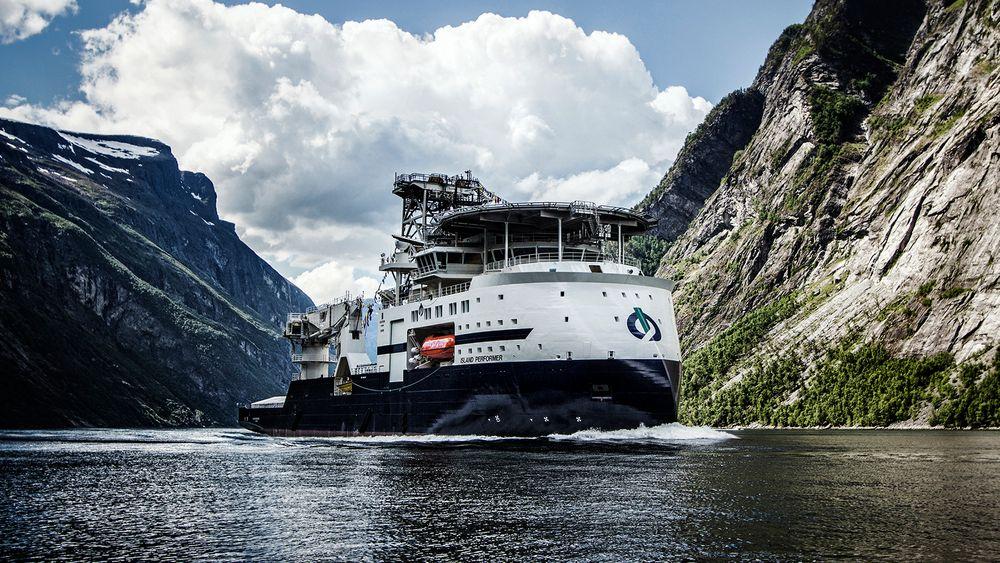 Island Performer er ett av 26 skip som legges inn i Kongsberg Digitals Vessel Insight-løsning. Dermed får rederiet Island Offshore full oversikt over hvert enkelt skip og kan sammenlikne og koordinere for hele flåten.
