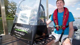 I sommer har elbåten Freepower vunnet en norsk og en global pris. Det gir Martin Bjurmalm fremtidstro.
