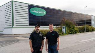 Solcelleanlegget gjør fabrikken mindre sårbar for de skyhøye strømprisene