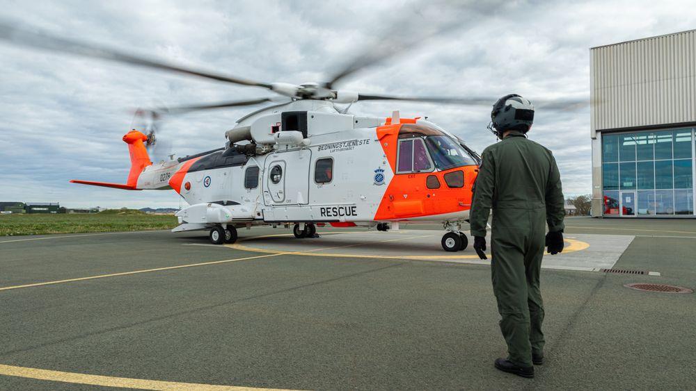 AW101 Sar Queen ble satt i drift på Ørland i mai i år.