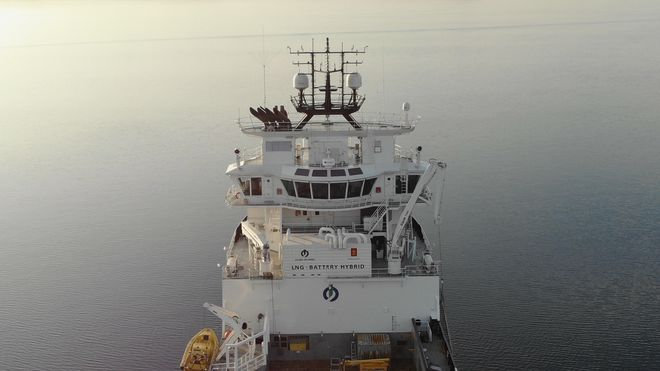 Island Offshore skal ha Vessel Insight på alle sine 26 fartøy. Her Island Crusader.