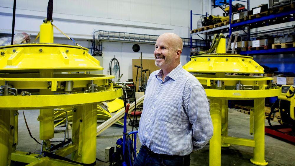Atle Korsmo fotografert da han solgte seg ut av Future Production i 2013.