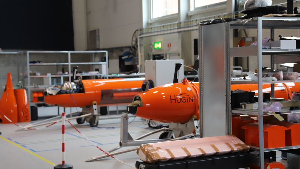 Hugin er utviklet i fellesskap over 30 år mellom Forsvaret, FFI og Kongsberg Maritime.