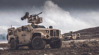Nytt kongsbergluftvern: Kombinerer 30 mm-kanon med Stinger-missiler på våpenstasjonen