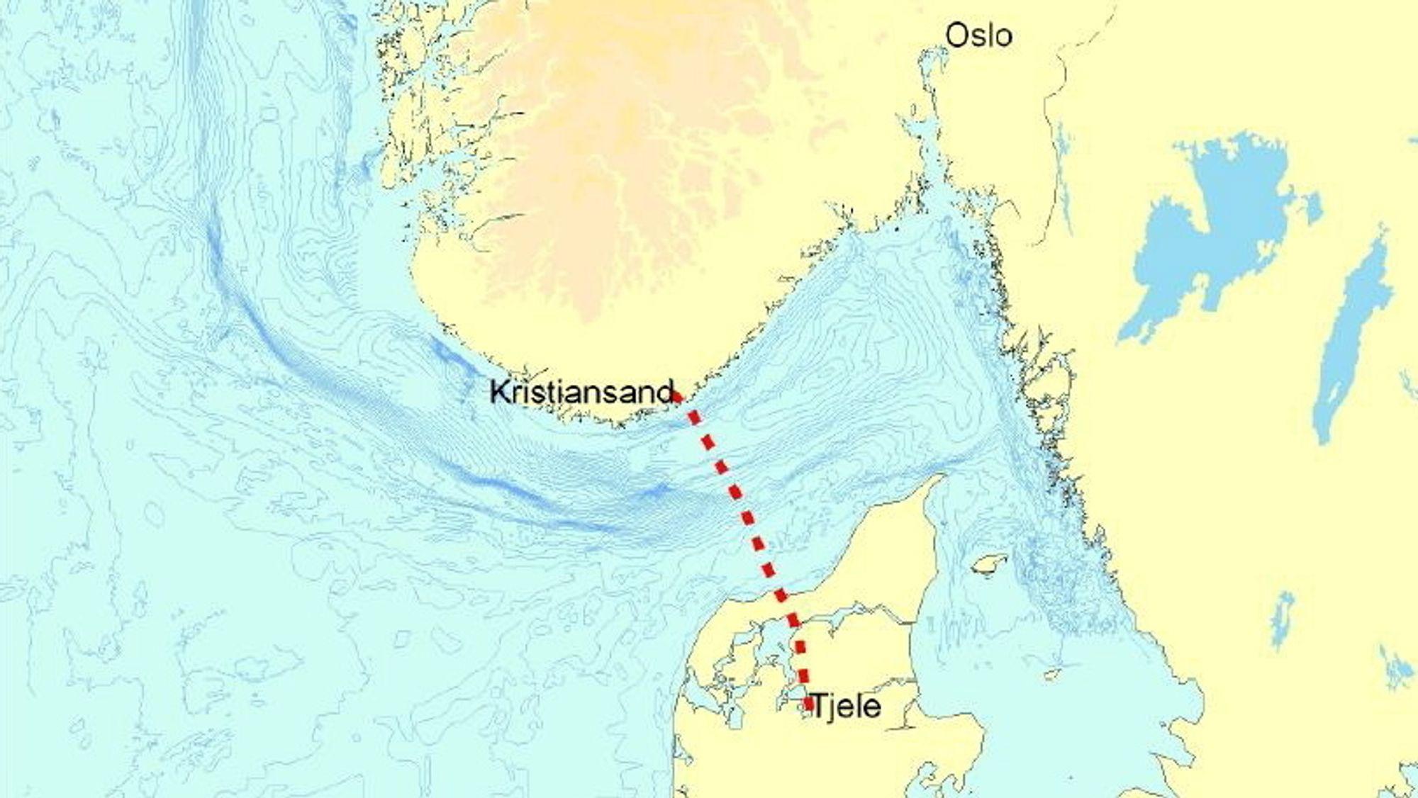De første kraftkablene mellom Norge og Danmark ble satt i drift i 1977 og må trolig snart byttes ut.