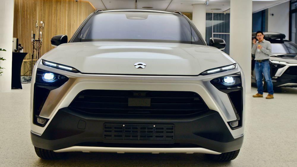 Nio ES8-kunder kan velge å kjøpe bilen med batteri, eller å leie dette for en fast månedspris.