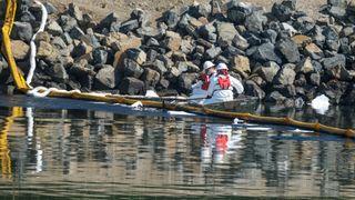 California: Over en halv million liter olje lekket ut i havet