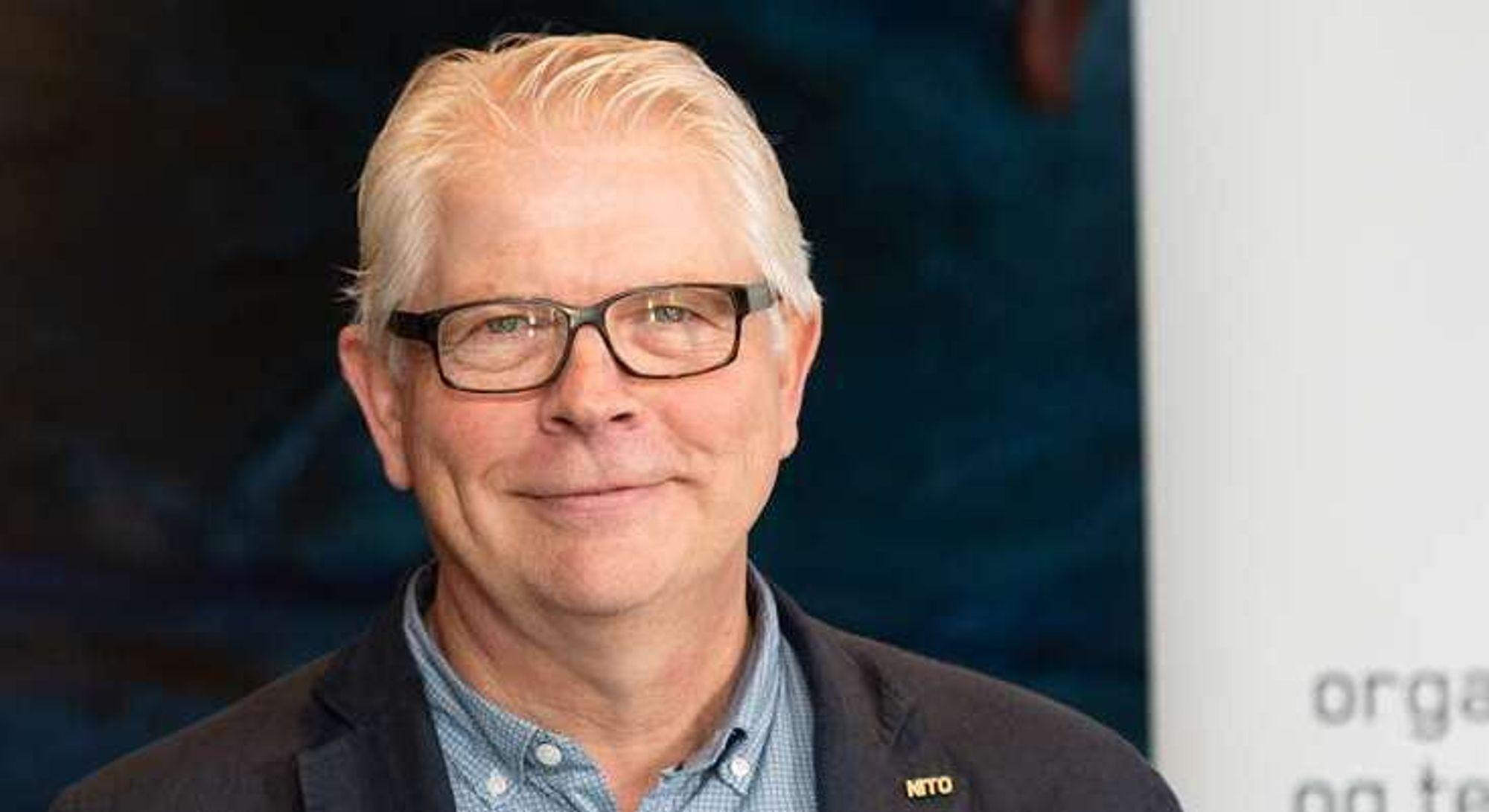 Kraftforvalter og leder for tariffutvalget NITO Energi, Oddvar Steinhaug.