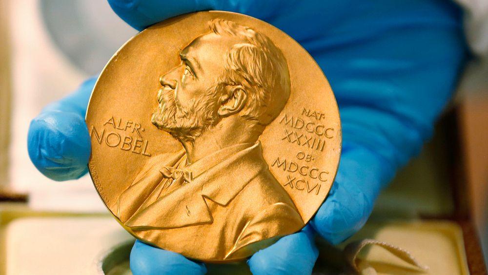 Nobelmedaljen.