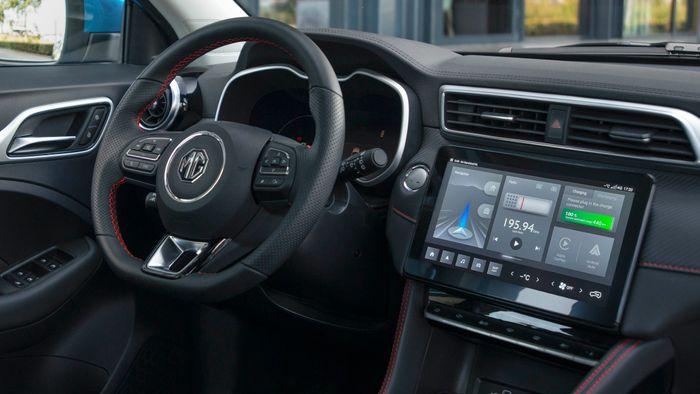 Infotainmentsystemet «iSmart» er standard på alle MGs nye modeller.