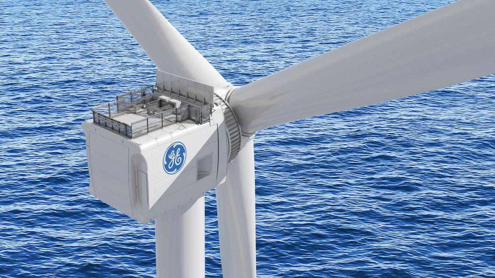 Ved å utvikle verdens største 3D-printer skal prosessen med å lage deler til Haliade-X-turbinen forkortes med et par måneder, ifølge General Electric.