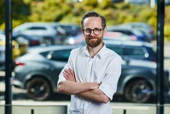 Øyvind Rognlien Skovli, kommunikasjonsdirektør i Harald A. Møller.