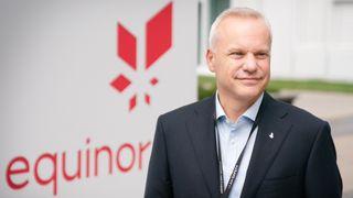 Equinor-sjef Anders Opedal vil bruke 100 milliarder kroner av Equinors egne penger på grønne investeringer de neste årene. Det tilsvarer 4 prosent årlig av selskapets omsetning i fjor.