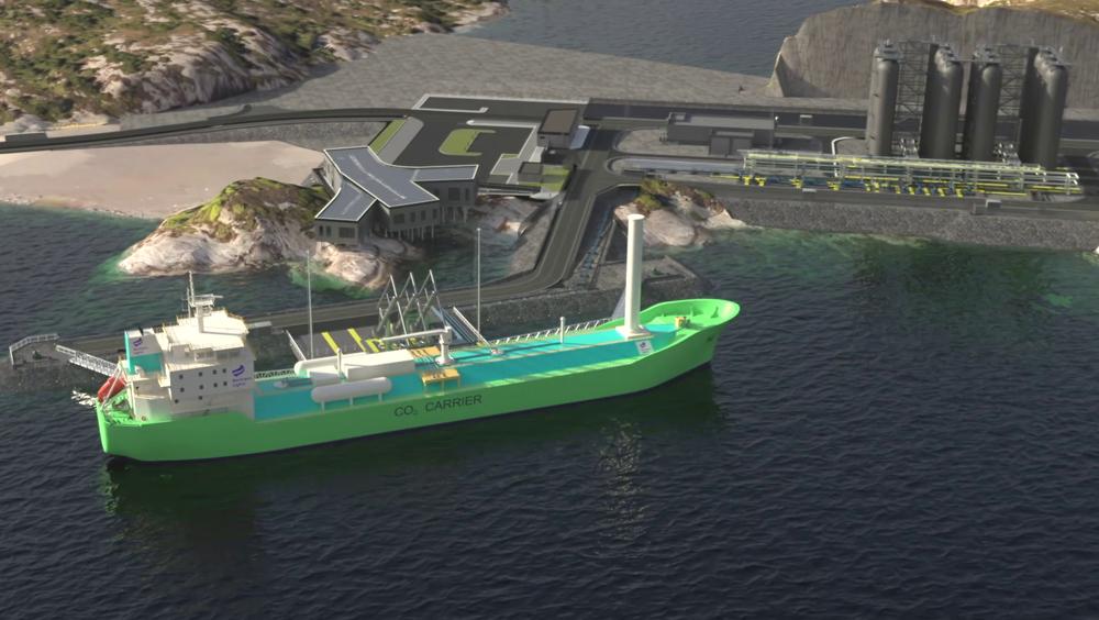 Northern Lights har gitt oppdraget med å bygge de to CO2-frakterne til det kinesiske verftet Dalian Shipbuilding Industry.