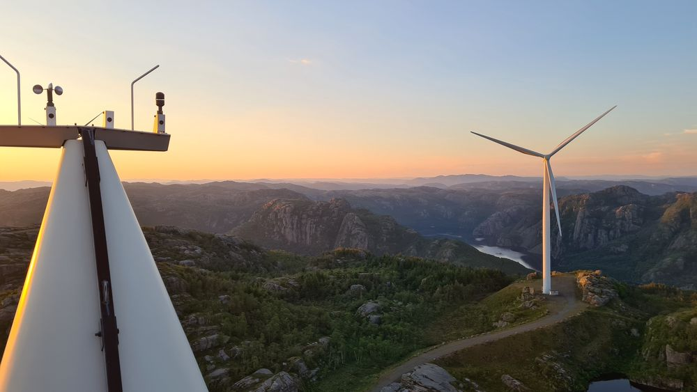 Regjeringen vil ha produksjonsavgift på vindkraft.
