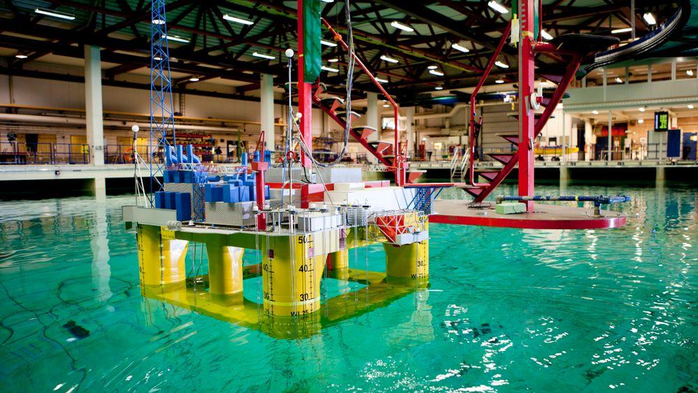 Havbassenget til Sintef Ocean (eks Marintek) har bidratt til å utvikle alt fra skip og oljeplattformer til havmerder og flytende havvind. Nå er bassenget utslitt og må erstattes.