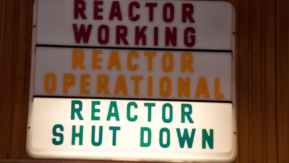 Fra Haldenreaktoren.