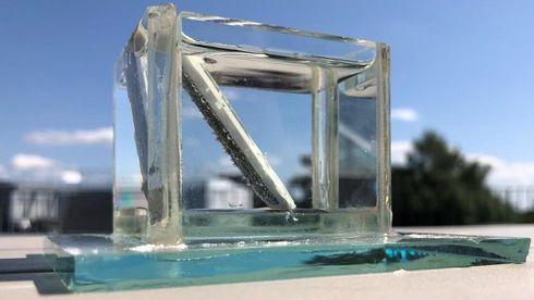 Her splittes vann til hydrogen og oksygen bare ved hjelp av sollys