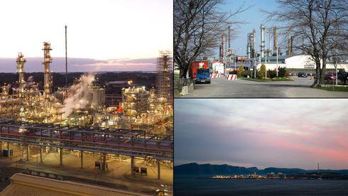 Ett raffineri er lagt ned, LNG-anlegget ute av drift – og til nyttår forsvinner gasskraftverket