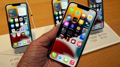 Iphone 13 ble lansert i slutten av september 2021.