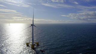 Her flyter verdens største, flytende havturbin utenfor Skottland. Norske Statkraft kjøper kraften