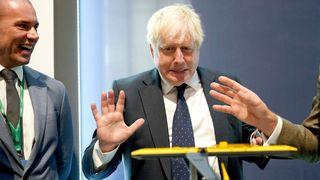 Den britiske statsministeren Boris Johnson.
