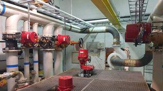 Automatiserte ventiler ga sikrere og mer effektiv drift av tankanlegg på Arendal Havn