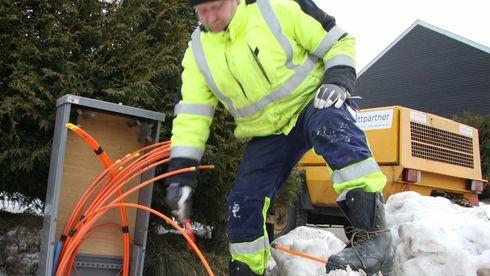 4 av 10 norske husstander kan ikke velge bredbåndsleverandør