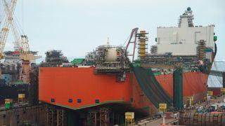 Produksjonsskipet som skal brukes på Johan Castberg-feltet, blir bygget hos Sembcorp Marine i Singapore.