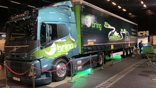 Volvos nye elektriske lastebil FM Electric på 44 tonn har planlagt levering i 2022.