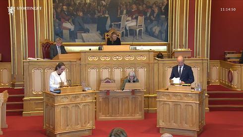 Stortingets spørretime, Representant Linda Hofstad Helleland og Finansmininster Trygve Slagsvold Vedum