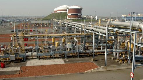 Gasscos terminal i Zeebrugge.