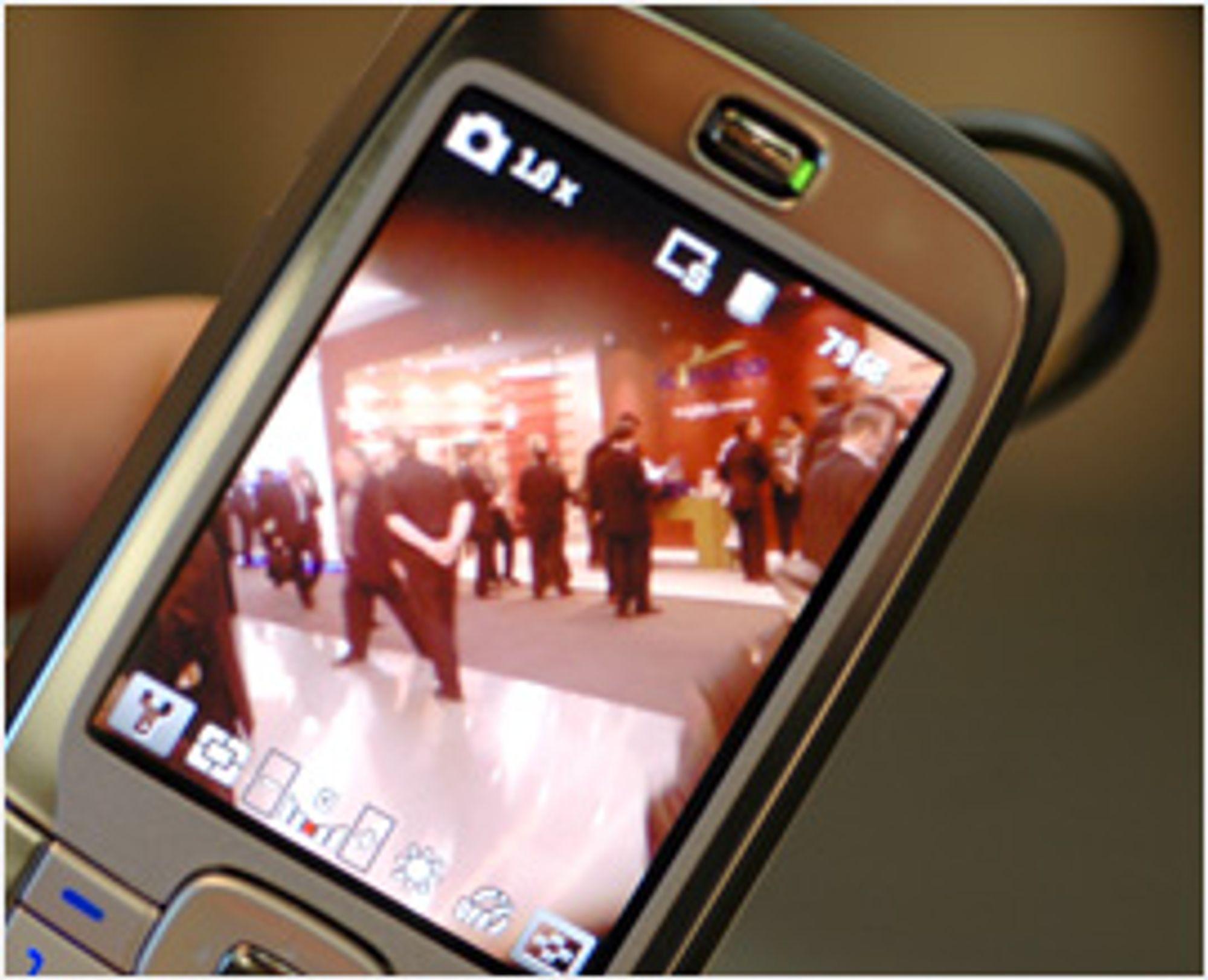 HTC S710 har to megapikslers kamera