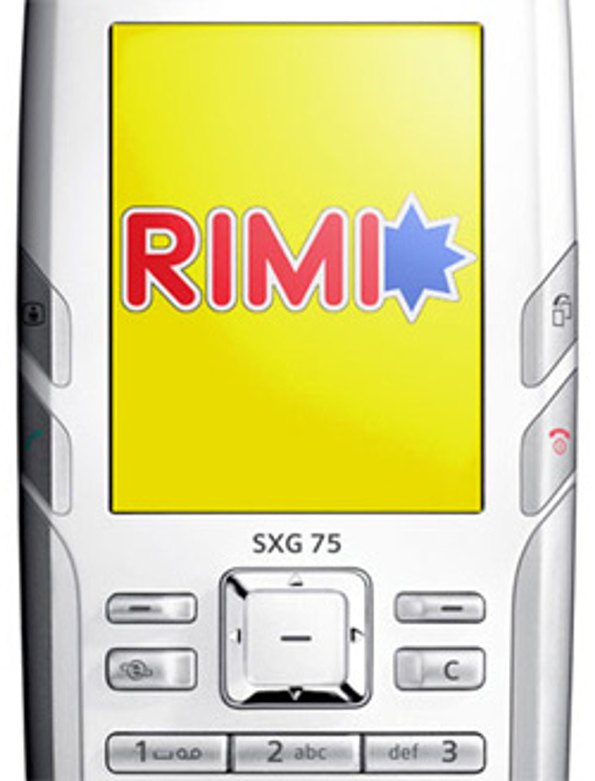 Kunne du tenke deg Rimi-reklame på mobilen?