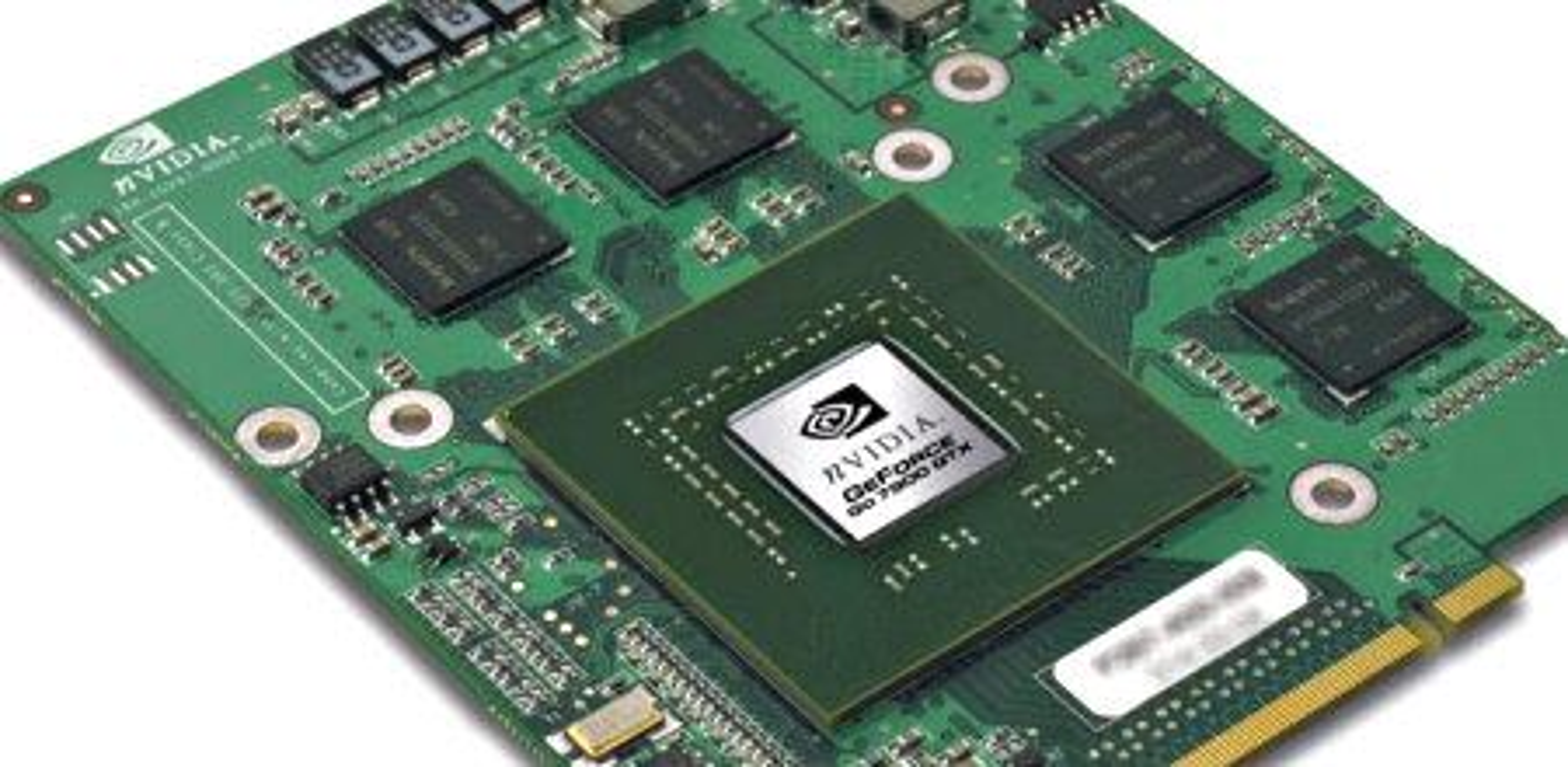 Bildet viser GeForce Go 7900