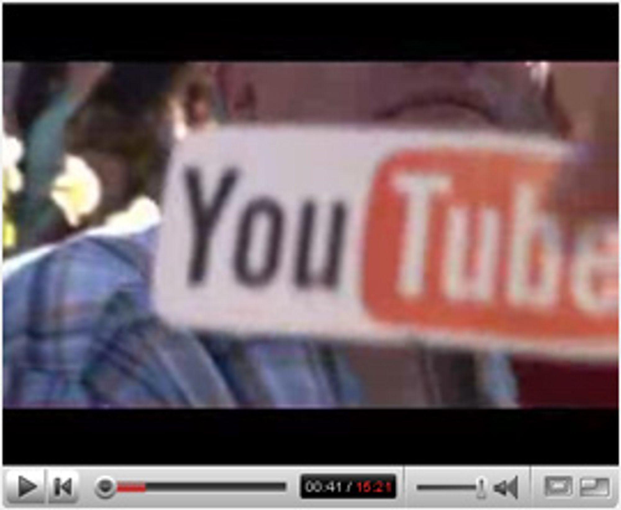 YouTube er en populær tjeneste